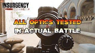 Testing All Optics in Actual Battle Insurgency Sandstorm