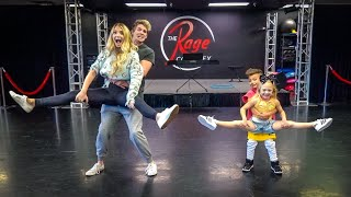 HILARIOUS Dance Battle Against Everleigh and Her First Dance Partner! (Recreating their old duet)