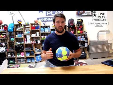 Review Handbälle 17/18: Select Maxi Grip 2.0