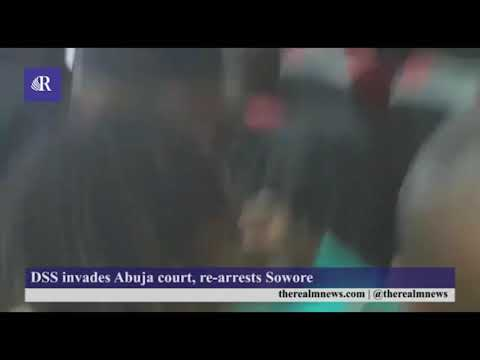 Democracy raped as Buhari's DSS invades court to arrest Sowore
