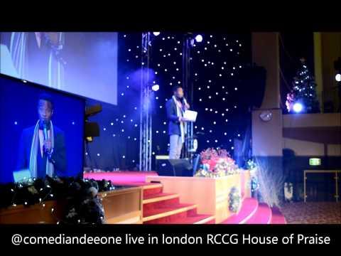 Dee-One Live in London - Nigerian Comedian