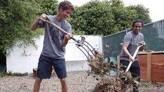 What is community composting?