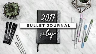 My Bullet Journal Setup 2017