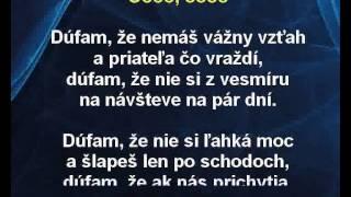 Desmod - Vyrobená pre mňa (karaoke z www.karaoke-zabava.cz)