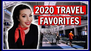 My Top 10 Current Flight Attendant & Travel Favorites in 2020 #SojosVision