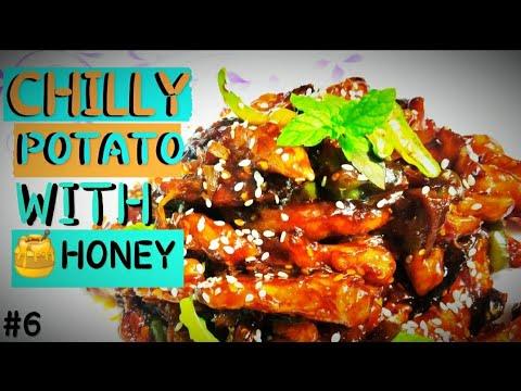, title : 'CHILLY POTATO WITH HONEY. #jyothi'skitchen
