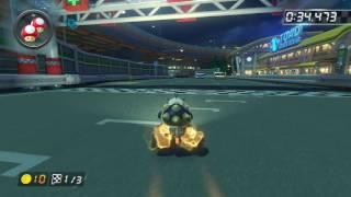 N64 Toad's Turnpike - 1:39.842 - ダ (Mario Kart 8 World Record)