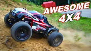 Awesome 4x4 RC Truck HILL CLIMB - 1/10 Scale ZD Racing 10427 - S - TheRcSaylors