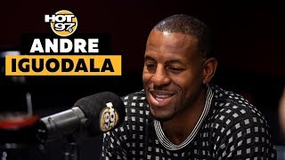 Andre Iguodala On Time w/ Warriors, Draymond Green vs KD, NBA/China & New Book