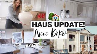 HAUSBAU ! Neue Hausdeko DESENIO & H&M HOME   Marmor Arbeitsplatte ist da!  MAYRA JOANN