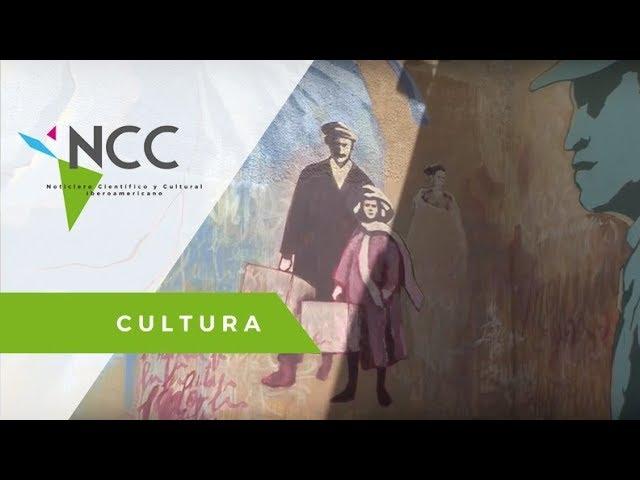 Un Mural rinde homenaje a los migrantes