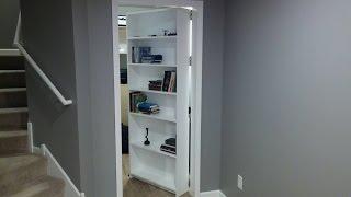 Secret Door, Room. Bookcase - Door. Safe. Gun Storage