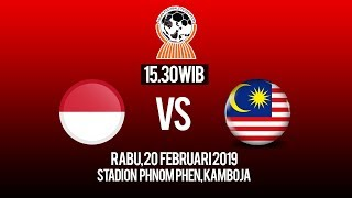 Video Live Streaming Piala AFF U-22, Indonesia U-22 Vs Malaysia U-22, Rabu Pukul 15.30 WIB