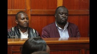 Police accuse blogger Robert Alai and a prison officer of being