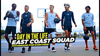 Ballislife EAST COAST SQUAD: From HUMBLE Beginnings To VIRAL STREETBALL TEAM! Day In The Life!