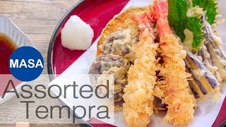 Assorted Tempura | MASA's Cuisine ABC