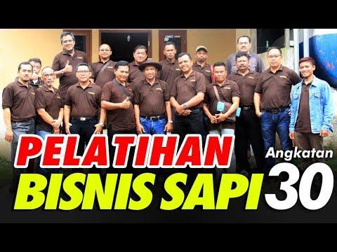 Pelatihan Bisnis Sapi Potong Angkatan 30