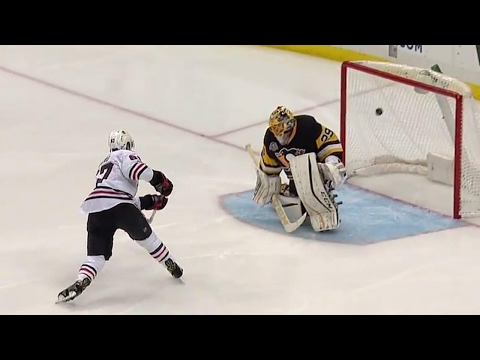 Kero blocks a shot, takes it other way and snipes on Fleury