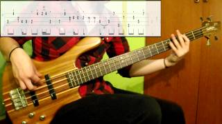 Diana Ross - The Boss (Bass Cover) (Play Along Tabs In Video)