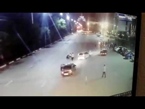 Мотоциклист сбил инспектора ГИБДД в  Новочеркасске