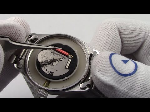 How To Change A Watch Battery - Watch and Learn #43