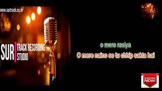 Aa Mere Hamjoli Aaa Full Karaoke For Male   - YouTube