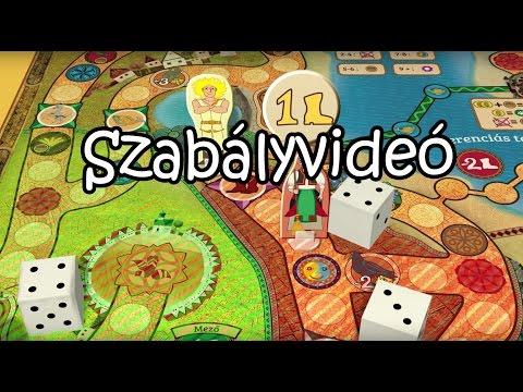 Magyar népmesék - A társasjáték szabályvideó - Korona Games Video