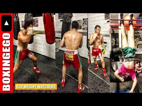 EWW: JC CHAVEZ JR. KEEPING WEIGHT DOWN FOR CANELO ALVAREZ 164.5 LBS CATCH-WEIGHT DEMAND