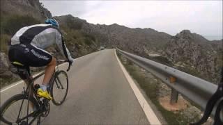 preview picture of video 'Sa Calobra, Majorca.  Descent, March 2013'