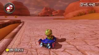 Bone-Dry Dunes - 1:47.550 - ダ (Mario Kart 8 World Record)