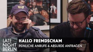 Peinliche Promi-Anfragen - Bei Anruf Cringe | Katy Perry, Tokio Hotel & Co | Late Night Berlin