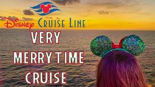 Very Merrytime Disney Cruise Day 1 2019