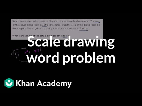 Solving a scale drawing word problem video khan academy malvernweather Image collections