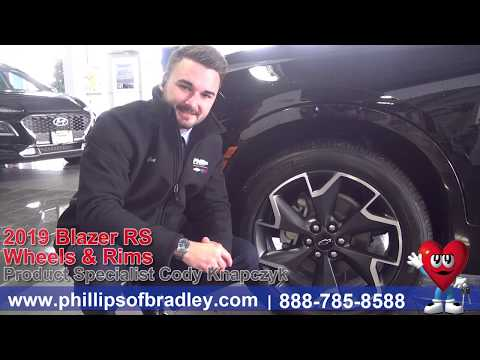 Phillips Auto Group - 2019 Chevy Blazer - Wheels and Rims