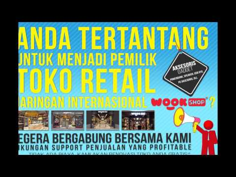 Video WOOK SHOP Toko Waralaba Gadget Terkeren untuk Anak Muda di Indonesia