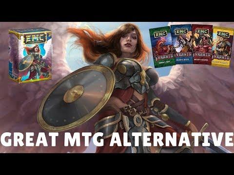 Miniatura de un video de Epic Card Game que muestra a la campeona que se llama 'Ángel de la Misericordia'.