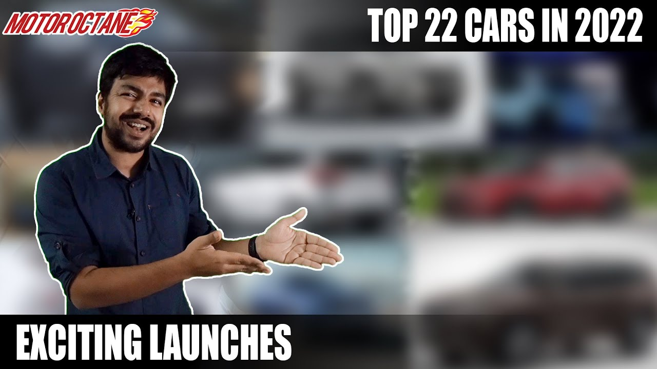 Motoroctane Youtube Video - Top 22 Cars Coming in 2022 - EXCLUSIVE