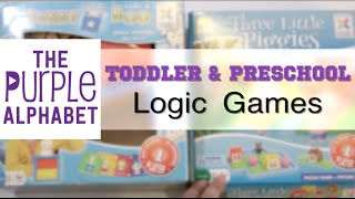 Toddler and Preschool Logic Games - feat. SMART GAMES