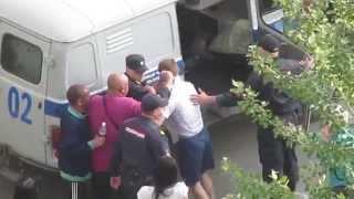 Чуркинские пацаны VS Полиция