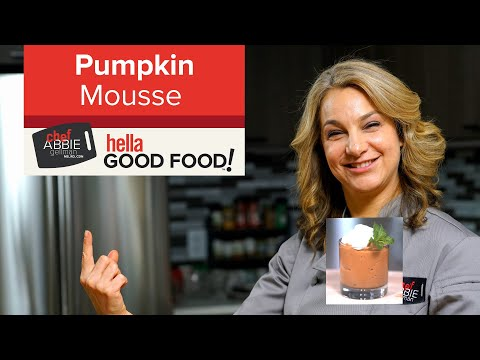 Healthy Vegan Pumpkin Mousse