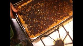 WHATS COOKING WEDNESDAY Pecan Christmas Crack AKA Ritz Cracker Toffee