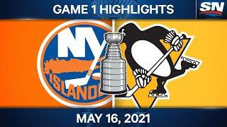 Höhepunkte des NHL-Spiels | Islanders vs. Penguins, Spiel 1 - 16. Mai 2021