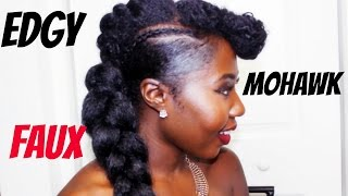 EDGY Braided Faux Mohawk
