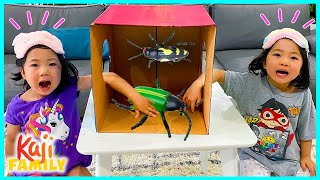 What's in the BOX Challenge Emma vs Kate!!