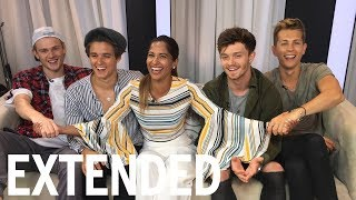 The Vamps Talk Touring, Texting, And Shawn Mendes | EXTENDED