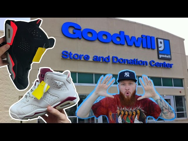 SEARCHING for LIMITED SNEAKERS at THRIFT STORES!!! GOOD WILL HUNTING!!!