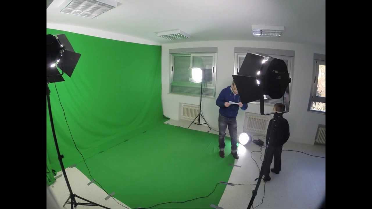 montando la clase de cine (lapse time)