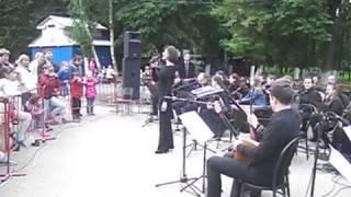 Нижегородский русский народный оркестр. Фрагмент выступления 24.06.2017