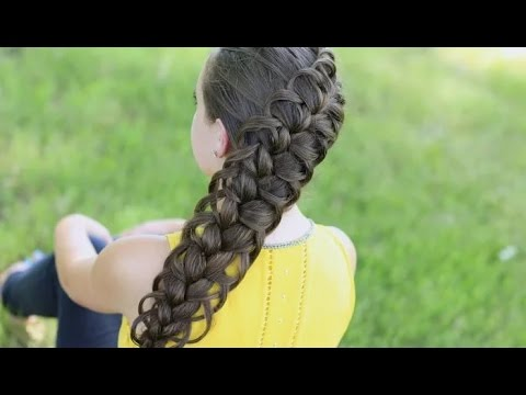 Как заплести красивую ажурную косу. Мастер класс по плетению кос