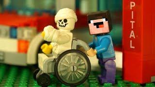 ЧТО С БОРЬКОЙ ? Лего НУБик Майнкрафт Мультики - LEGO Minecraft FNAF Animation